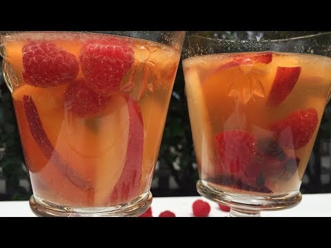Summer Sangria with Rosé Kombucha