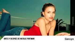 Fotos de Natalie Portman   Antes y después de Natalie Portman
