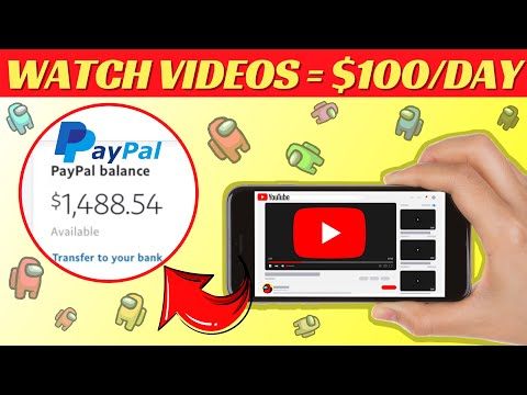 Earn PayPal Money From Watching YouTube Videos (2021) | Make $100 Per Day Online For FREE