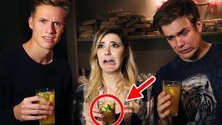 Ekelhafte Cocktails mixen mit LUCA und KranCrafter (Mein erster Vlog lol)