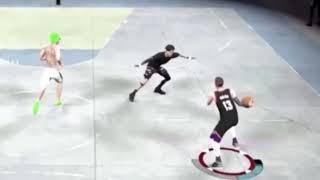 Sickboy breaks everyone's ankles!