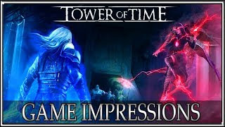 Top Down Dragon Age? Tower of Time PC Gameplay Impressions English