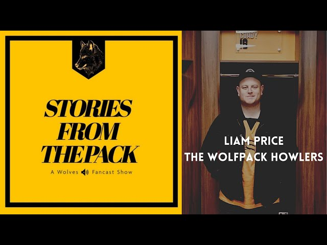Wolves Stories from The Pack - Liam Price