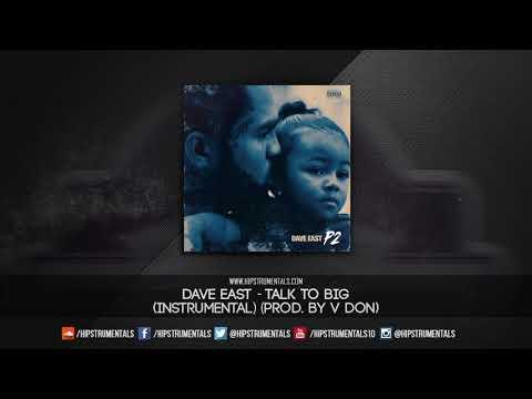 Dave East - Talk To Big [Instrumental] (Prod. By V Don) + DL via @Hipstrumentals