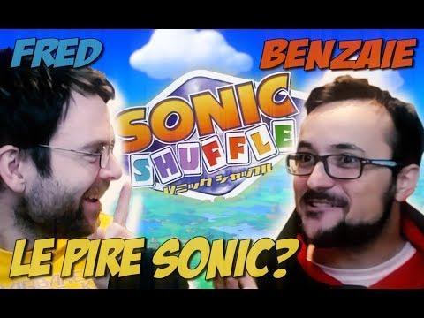 SONIC SHUFFLE - Le pire des plagiat de mario Party - Avec Benzaie