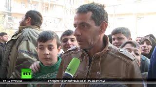 Разлука длиной в годы: жители Алеппо встретились с родными из освобожденных районов города