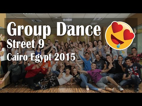 Famous 9 Street Conquered by Dancers - Cairo Egypt