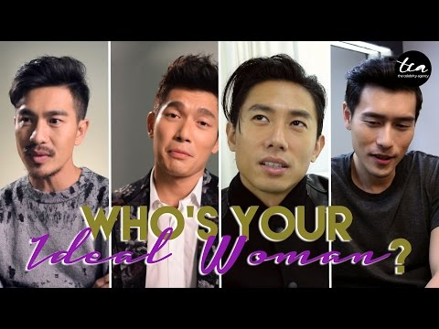 Who's your ideal woman? w/ Elvin Ng, Desmond Tan and more!