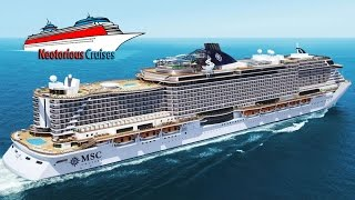 MSC Cruises : Vista and Seaside Cruise Ships Project