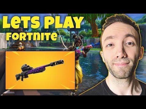 Lets Play Fortnite - گیم پلی فورتنایت و ببینید چی پیدا کردم