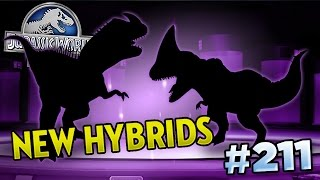 NEW HYBRIDS INCOMING!!! || Jurassic World - The Game - Ep211 HD