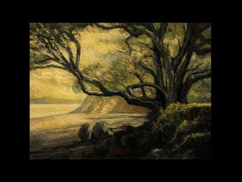 In the Shade 6×8 Tonalist Landscape Oil Painting Demonstration