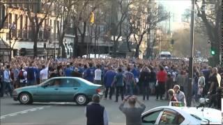 Schalke international in  Madrid (Schalke 04)