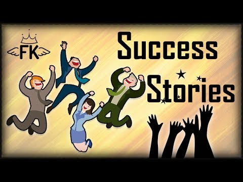 6 Inspiring Success Stories - Famous People Who Made It Against All Odds
