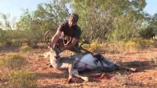 Whitetail Buck with Bow in Texas - TxConnection Outdoors 2012 Deer Season Ep. 1