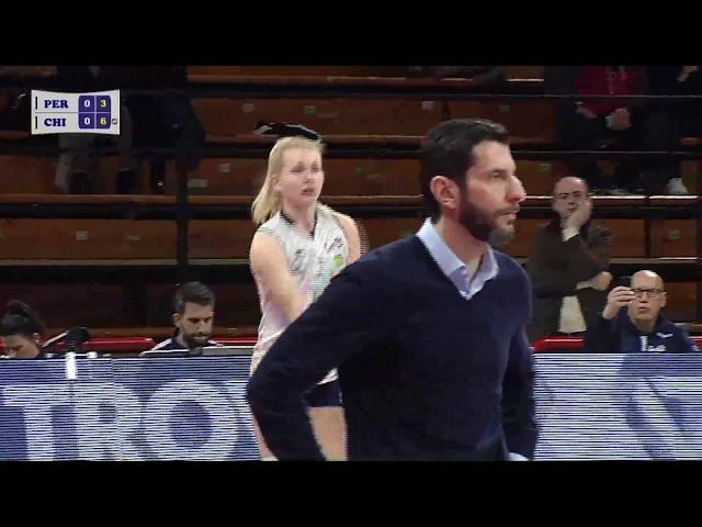 Highlights Bartoccini Fortinfissi Perugia vs Reae Mutua Fenera Chieri '76
