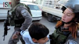 10 Year Old Abducted In Hebron By Israeli Border Police. 12 Dec 2018