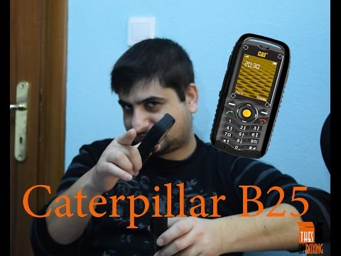 Thes Caterpillar B25 -Greek Unboxing
