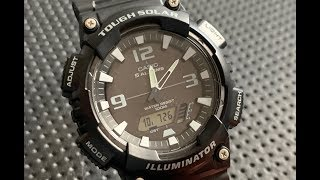 The Casio Tough Solar AQ-S810W-2A2VCF Wristwatch: The Full Nick Shabazz Review