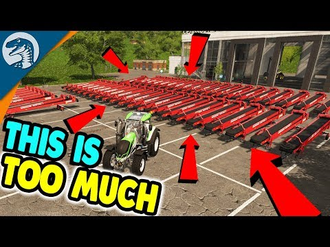 OVER 200 BELTS CHAINED TOGETHER | Farming Simulator 17 Mulitplayer Gameplay