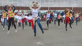 Всероссийский флешмоб. Русь танцевальная. Апатиты