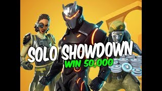 Fortnite solo showdown contest,WIN 50,000 VBUCKS!!!!