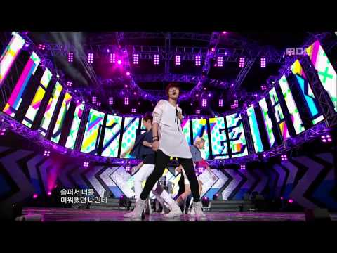 NU'EST - Not Over You, 뉴이스트 - 낫 오버 유, Music Core 20120818