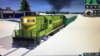 Trainz - Christmas Departures #1