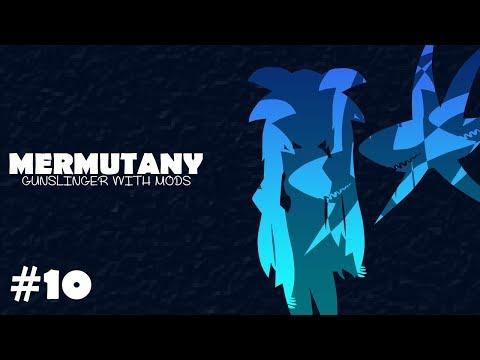 Terraria : Mermutany #10 - Gunslinger with Mods - Battle against a Profaned Universe (Feat. Floot)