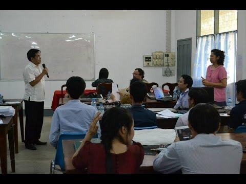 Present Supanuvong นำเสนอโครงร่างวิจัยในชั้นเรียน