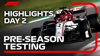 2020 Pre-Season Testing: Day 2 Highlights!
