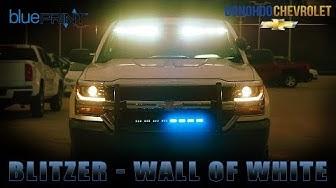 Blitzer and Wall of White - BluePrint - Donohoo Chevrolet Fleet Department