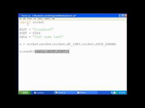 Intro Python Networking - UDP