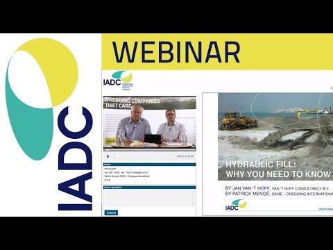 Dredging: Webinar - Hydraulic Fill (IADC)