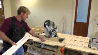 Crown Molding Is So Easy (part 3: Setting Up The Saw Just Right.)
