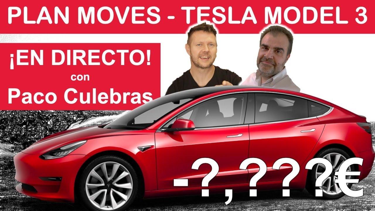 AYUDAS hasta 6,500€ para el TESLA MODEL 3 en España - Respuestas en DIRECTO