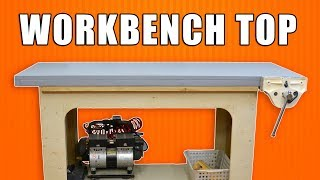 Building a Workbench Top with Torsion Box Table Top