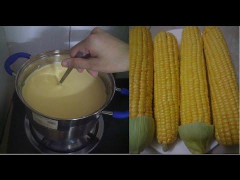 Cách làm sữa ngô ngon và sạch tại nhà