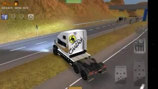 Grand Truck Simulator   QUEBRA DE ASA COM VOLVO VN