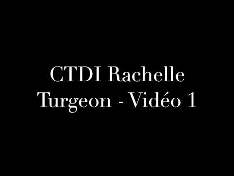 Video 1 application CTDI to Do More With Your Dog for Rachelle Turgeon
