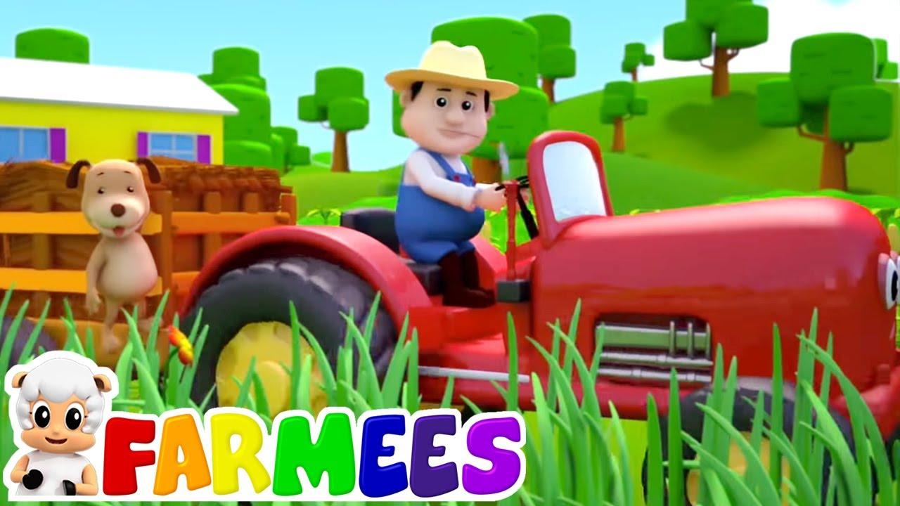 Cor da fazenda | Musica para bebes | Canção infantil | Farmees Português | Educação