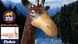 Christchurch Stands Tall 2014 Dulux NZ Moa Giraffe by Mandii Pope
