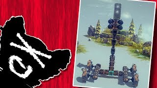 Building the ULTIMATE Seige Weapons! - Besiege Funny Moments
