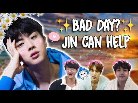 A Video To Watch When Youre Sad: Jin Version