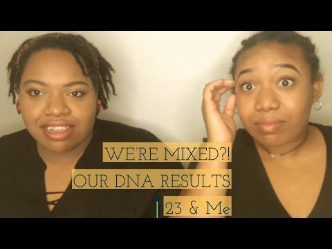 OUR DNA RESULTS   WE'RE MIXED?!   23 And Me   West Indian-African American