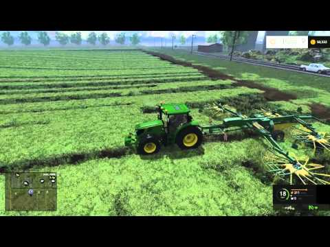 Hello America map states v8 Farming Simulator 2015 #04