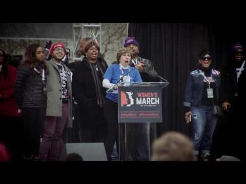 Weingarten Addresses Women's March