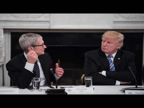 Pres. Trump to meet with Apple CEO Tim Cook in Austin
