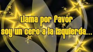 Llama por favor- Alejandra Guzman ft Moderatto (letra)