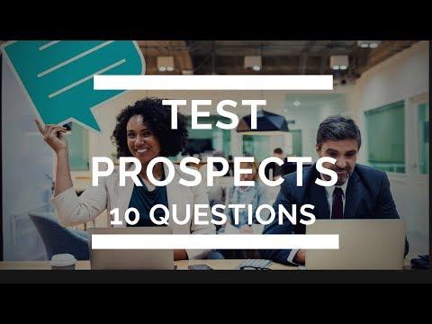 Live 24 - Comment reconnaître un Prospect Qualifié en faisant 2 Tests